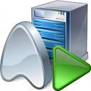 Application Server Run Icon 128x128