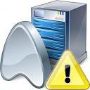 Application Server Warning Icon 128x128