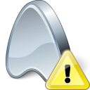 Application Warning Icon 128x128