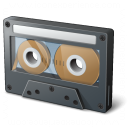 Audio Cassette Icon 128x128