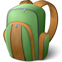 Backpack Icon 128x128