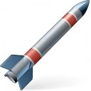 Ballistic Missile Icon 128x128