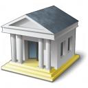 Bank House 1 Icon 128x128