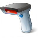 Barcode Scanner Icon 128x128