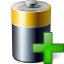 Battery Add Icon 128x128