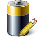 Battery Edit Icon 128x128