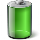 Battery Green Icon 128x128