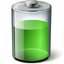 Battery Green 67 Icon 128x128
