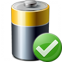 Battery Ok Icon 128x128