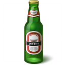 Beer Bottle Icon 128x128