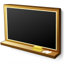 Blackboard Empty Icon 128x128