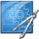 Blueprint Compasses Icon 128x128