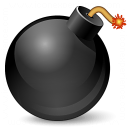 Bomb Icon 128x128