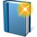 Book Blue New Icon 128x128