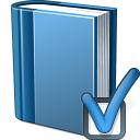Book Blue Preferences Icon 128x128