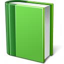 Book Green Icon 128x128