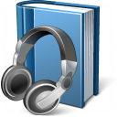 Book Headphones Icon 128x128