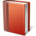 Book Red Icon 128x128