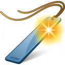 Bookmark Blue New Icon 128x128