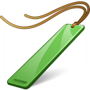 Bookmark Green Icon 128x128