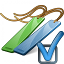 Bookmarks Preferences Icon 128x128