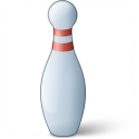 Bowling Pin Icon 128x128