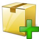 Box Closed Add Icon 128x128