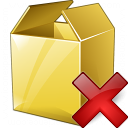 Box Delete Icon 128x128