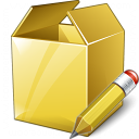 Box Edit Icon 128x128