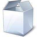 Box White Icon 128x128