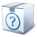 Box White Surprise Icon 128x128
