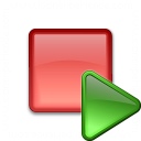Breakpoint Run Icon 128x128