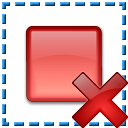 Breakpoint Selection Delete Icon 128x128