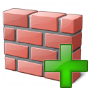 Brickwall Add Icon 128x128