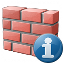 Brickwall Information Icon 128x128