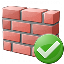 Brickwall Ok Icon 128x128
