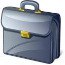Briefcase Icon 128x128