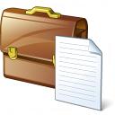Briefcase 2 Document Icon 128x128