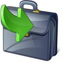 Briefcase Into Icon 128x128
