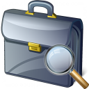 Briefcase View Icon 128x128