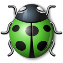 Bug Green Icon 128x128