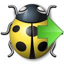 Bug Yellow Next Icon 128x128