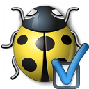 Bug Yellow Preferences Icon 128x128