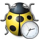 Bug Yellow Time Icon 128x128