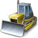 Bulldozer Icon 128x128