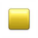 Bullet Square Yellow Icon 128x128