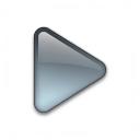 Bullet Triangle Glass Grey Icon 128x128