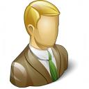 Businessman 3 Icon 128x128