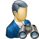 Businessman Find Icon 128x128