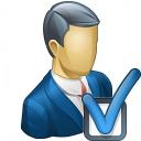Businessman Preferences Icon 128x128